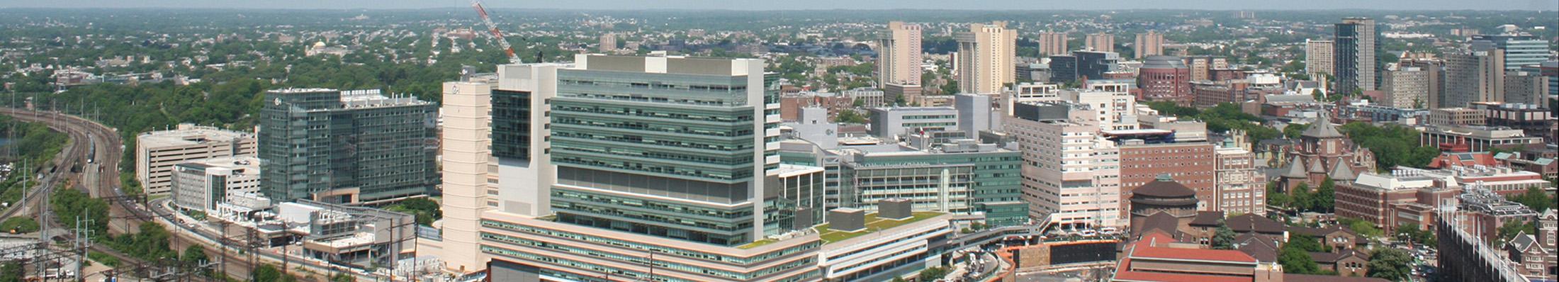 Aerial Photo of Penn Medicine